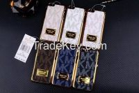 Mk Phone Case Stick Leather Case for iPhone