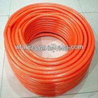 pvc braided hose/ pvc fiber reinforced hose/ pvc water hose/ pvc garden hose
