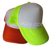 design your own foam mesh trucker cap