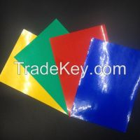 Commercial Grade Reflective Sheeting For Traffic Safety