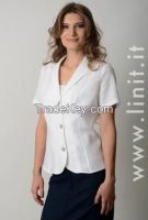 women Jackets 100% linen. Designed and manufactured in Italy