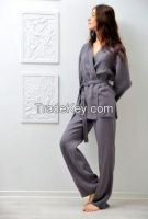 pajamas for women 100% linen. Designed and manufactured in Italy