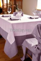 Designers tablecloth 100% linen. Made in Italy.