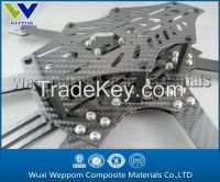 Carbon fiber CNC machining RC helicopter's parts