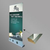 Auto Model Roll Up Banner Stand