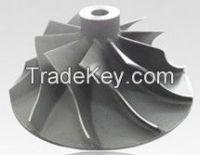 Titanium alloy impeller