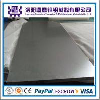High Quality Pure Tungsten Sheet/Plate Molybdenum Sheet/Plate Factory Price