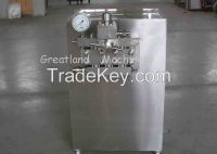 High Pressure Homogenizer  Automatic Milk Homogenizer 3000L/H 500L/H