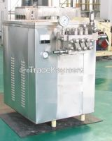 High Pressure Homogenizer  Automatic Milk Homogenizer 3000L/H 500L/H