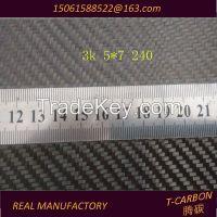 Factory Supply 3K 200G Twill/Plain Carbon Fiber Fabric/Cloth