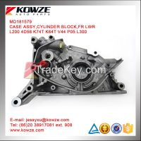 Cylinder Block/Oil Pump For Mitsubishi Pajero Montero L200 K74T 4D56
