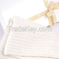 Best Quality soft baby 100% cashmere blanket