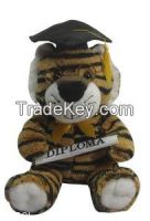 Graduation Animal Stuffed Plush Toy